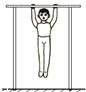 如图所示,小强在做引体向上练习,他在20s内完成了10个引体向上的动作,其体重为500N,每个动作身体向上移动的距离为50cm,他在整个动作过程中的功率为 ____ W.